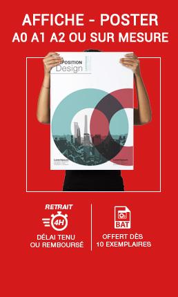 Impression Affiche grand format : A0-A1-A2