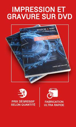Impression et gravure sur CD DVD