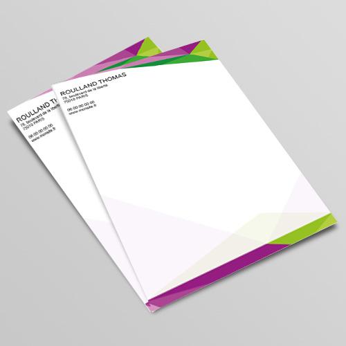 Souvent Impression tête de lettre et papier à en-tête | Découvrez nos offres MR35
